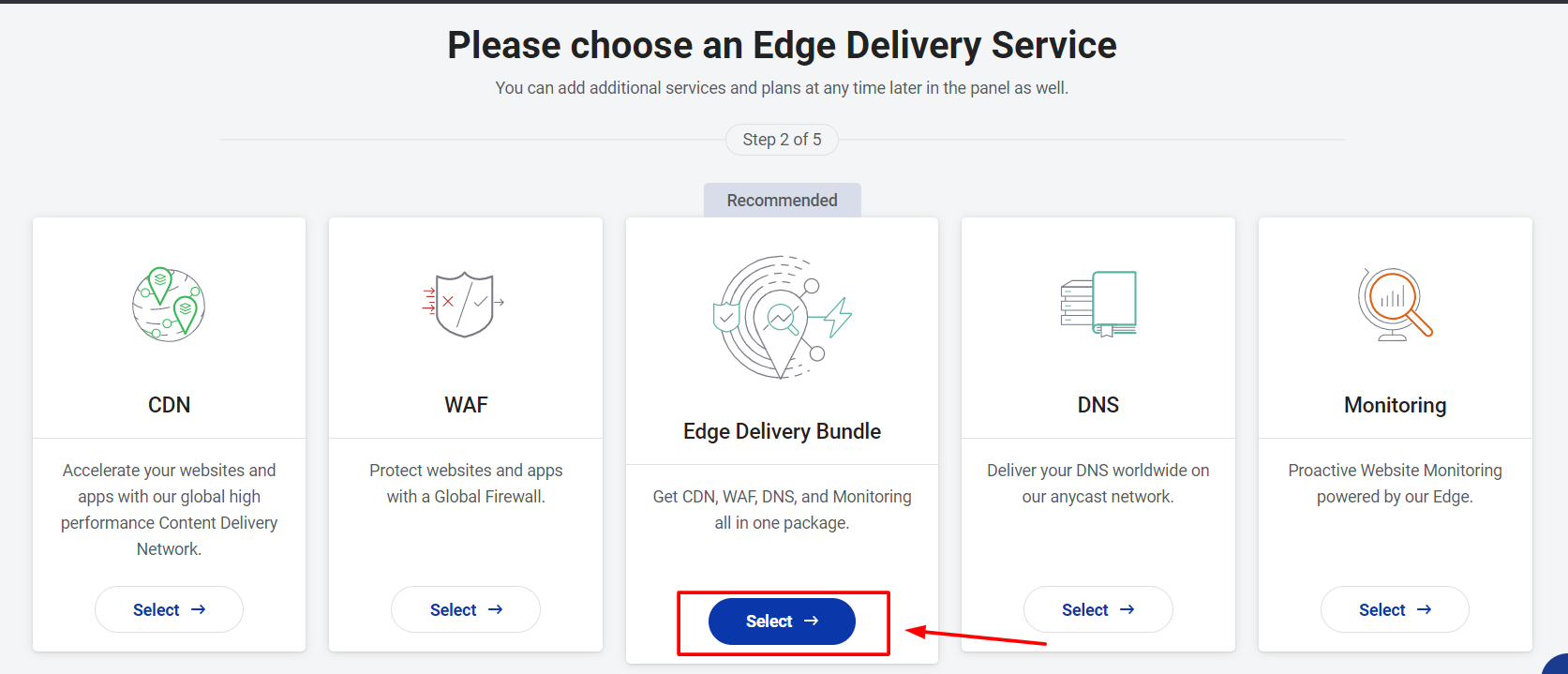 Choose an Edge Delivery Service