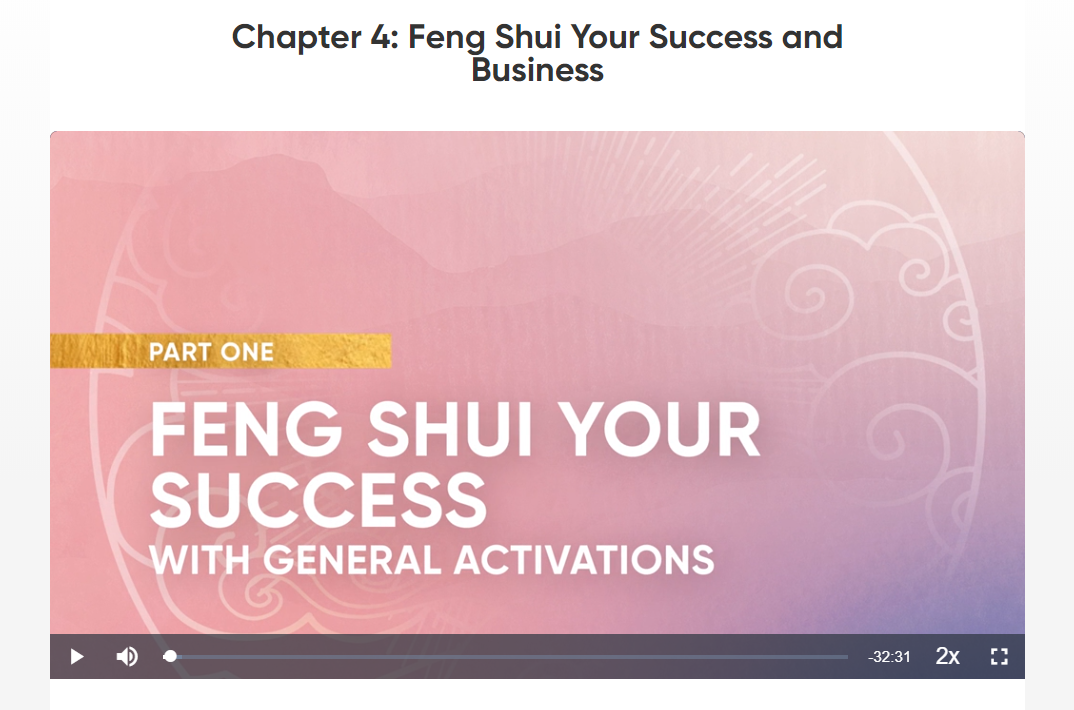 Feng Shui For Success and Business