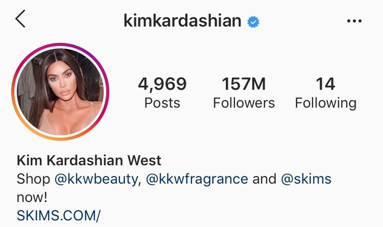 Micro Influencers - Kim Kardashian West