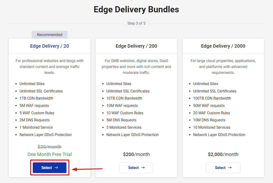 Select Edge Delivery Bundles