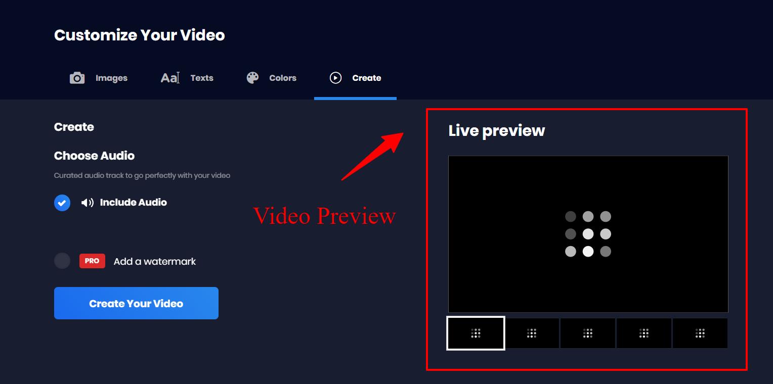 Viddyoze Customization - Video Preview