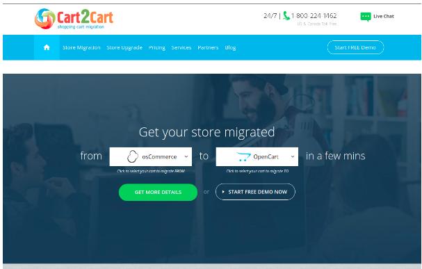 eCommerce Migration- Cart 2 Cart