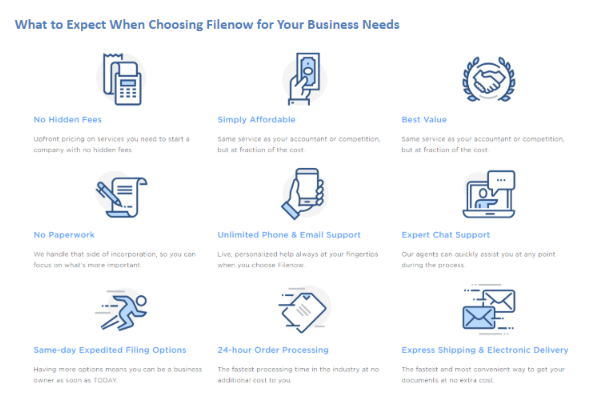 Filenow Review - Business Needs