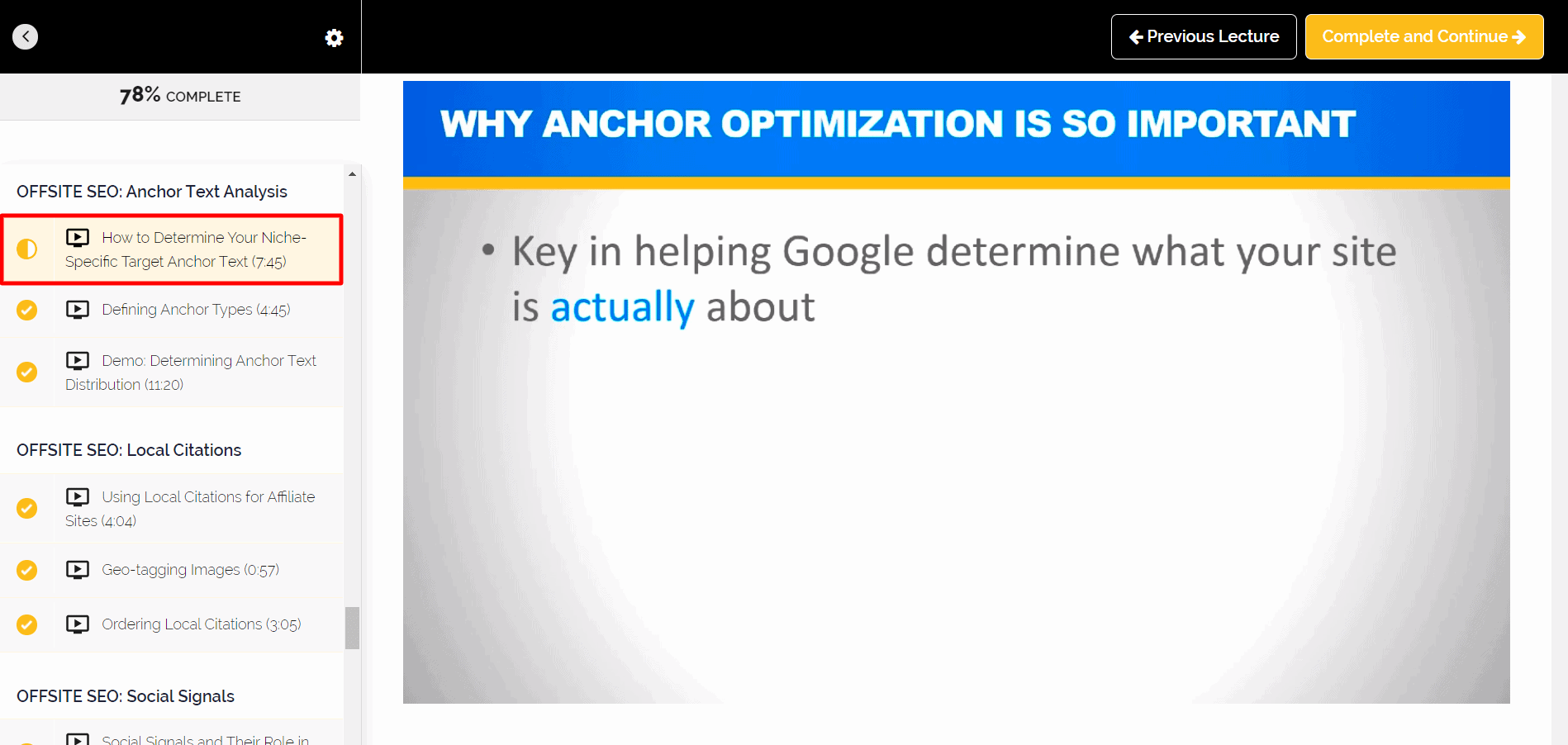 How to Determine Your Niche-Specific Target Anchor Text
