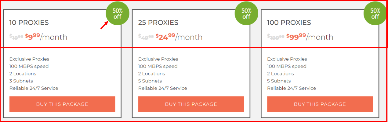 LimeProxies Discount Offer