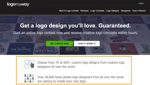 LogoMyWay- the best logo creation tool