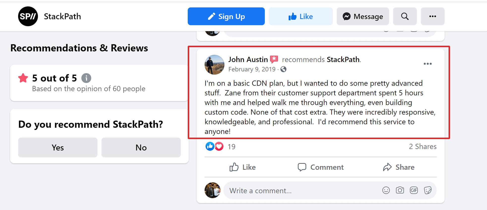 Stackpath CDN customer feedback