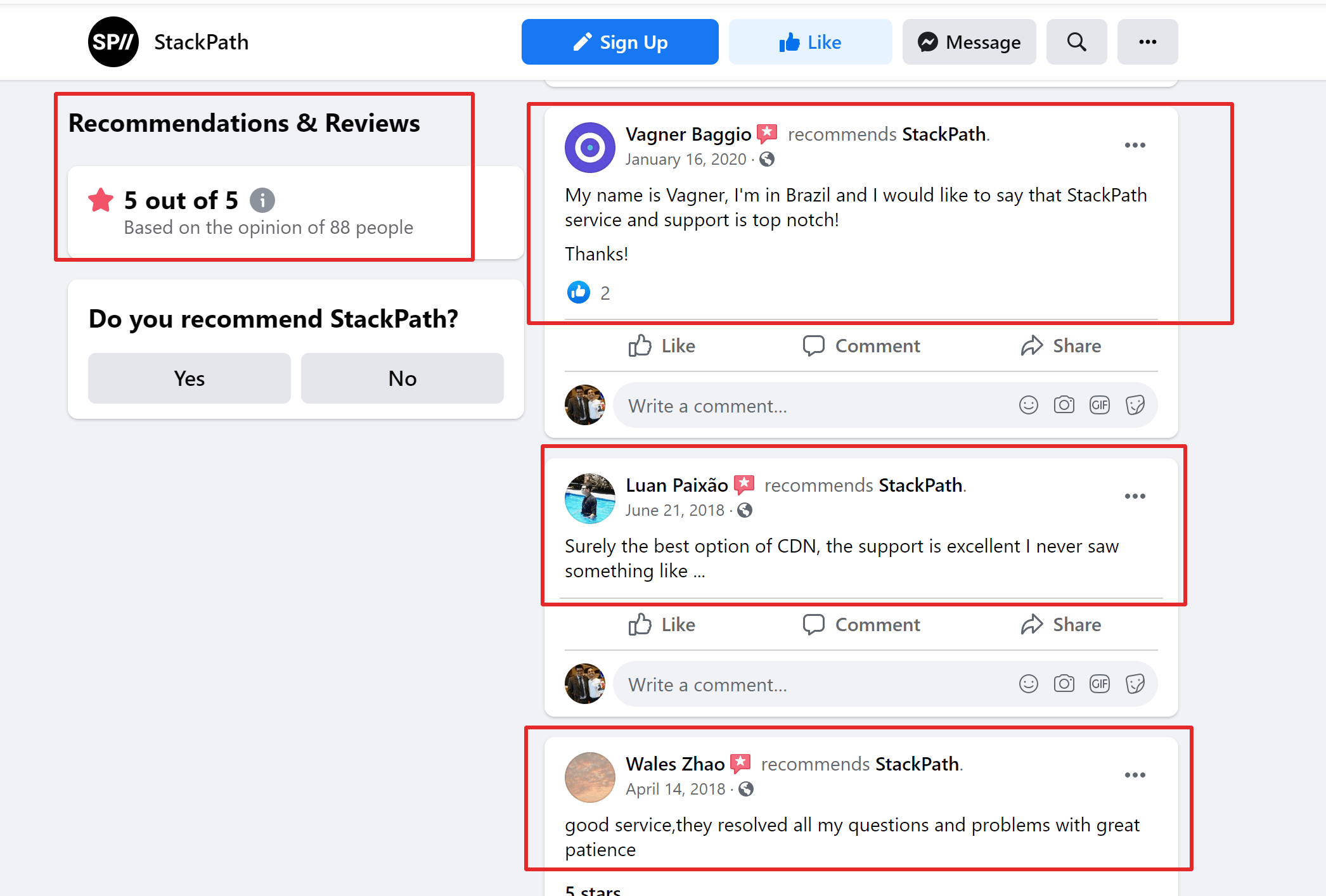 Stackpath CDN reviews and user reviews