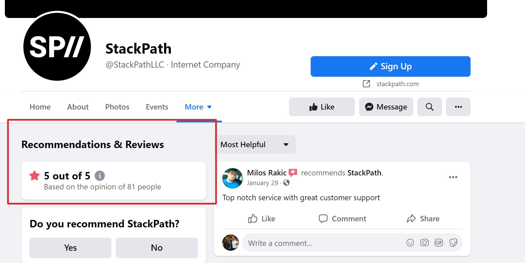 Stackpath CDN reviews