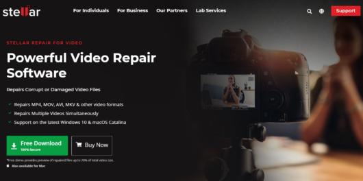 Stellar Video Repair Tool