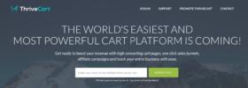 ThriveCart summary- a reliable shopping cart platform
