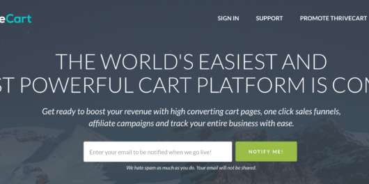 ThriveCart summary- a reliable shopping cart platform