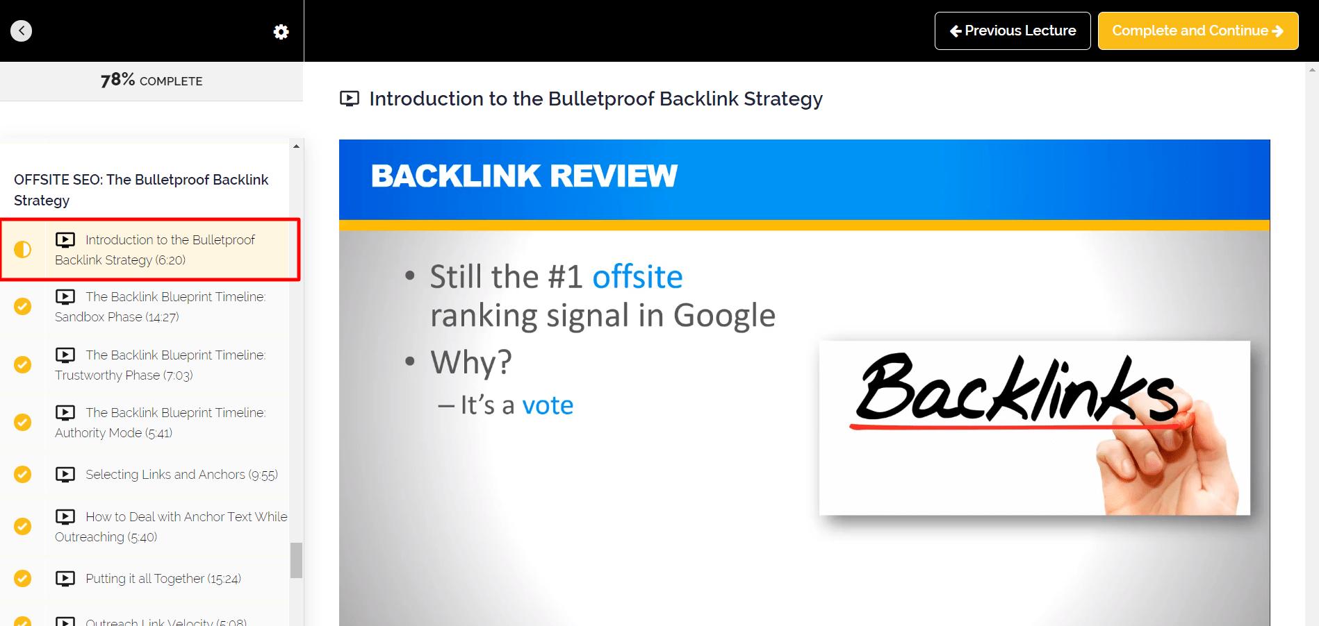 bulletproof backlink strategy