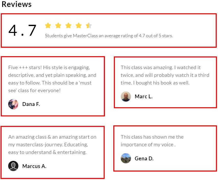 Chris Voss MasterClass Review - Customer Review