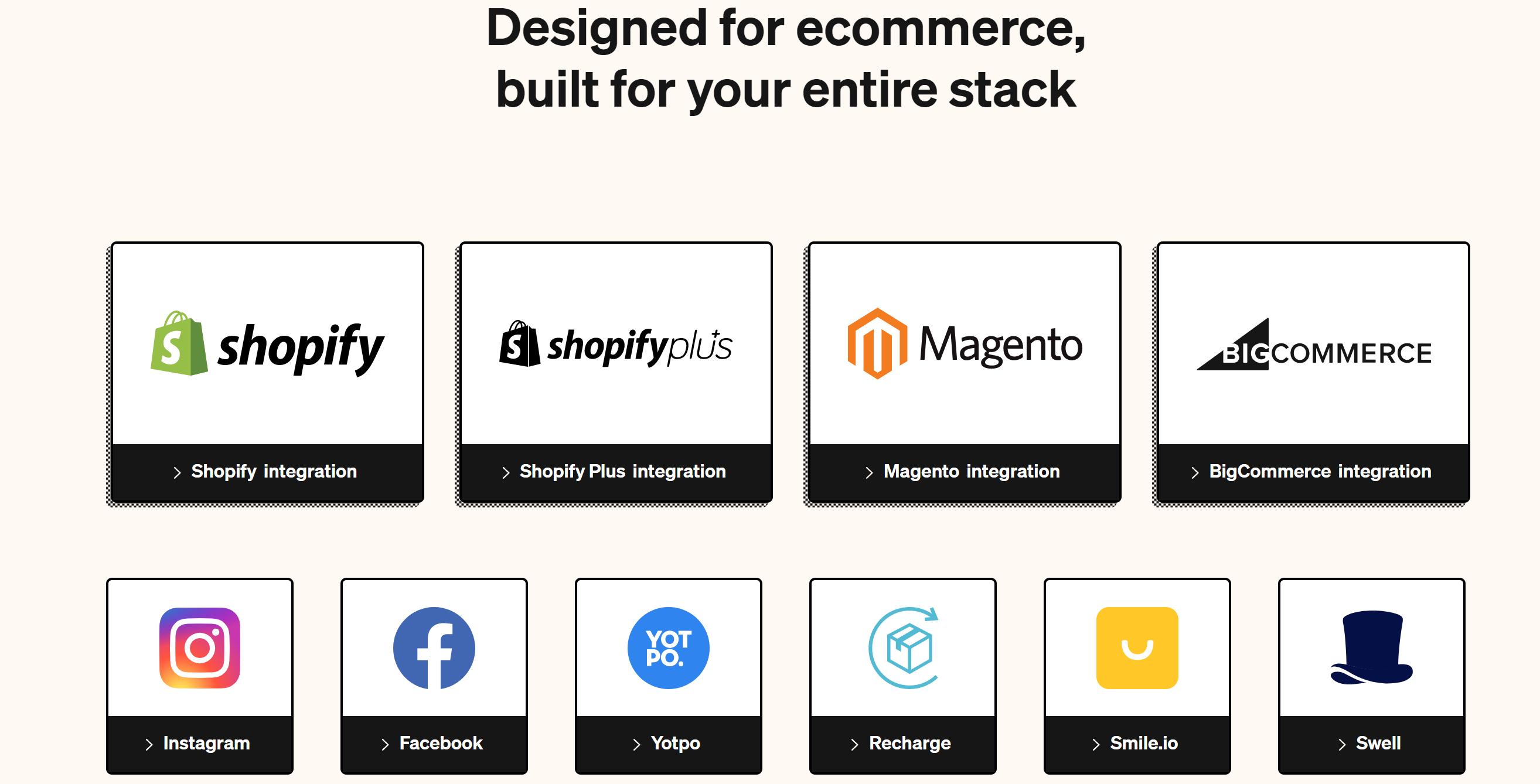 Gorgias shopify ecommerce