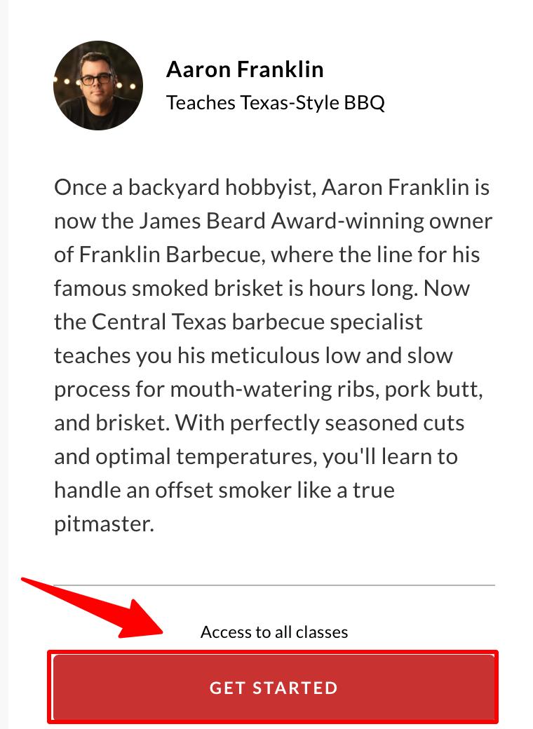 MasterClass - Aaron Franklin