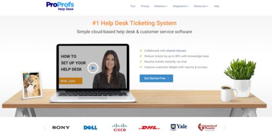 ProProfs Help Desk Review - ProProfs Help Desk