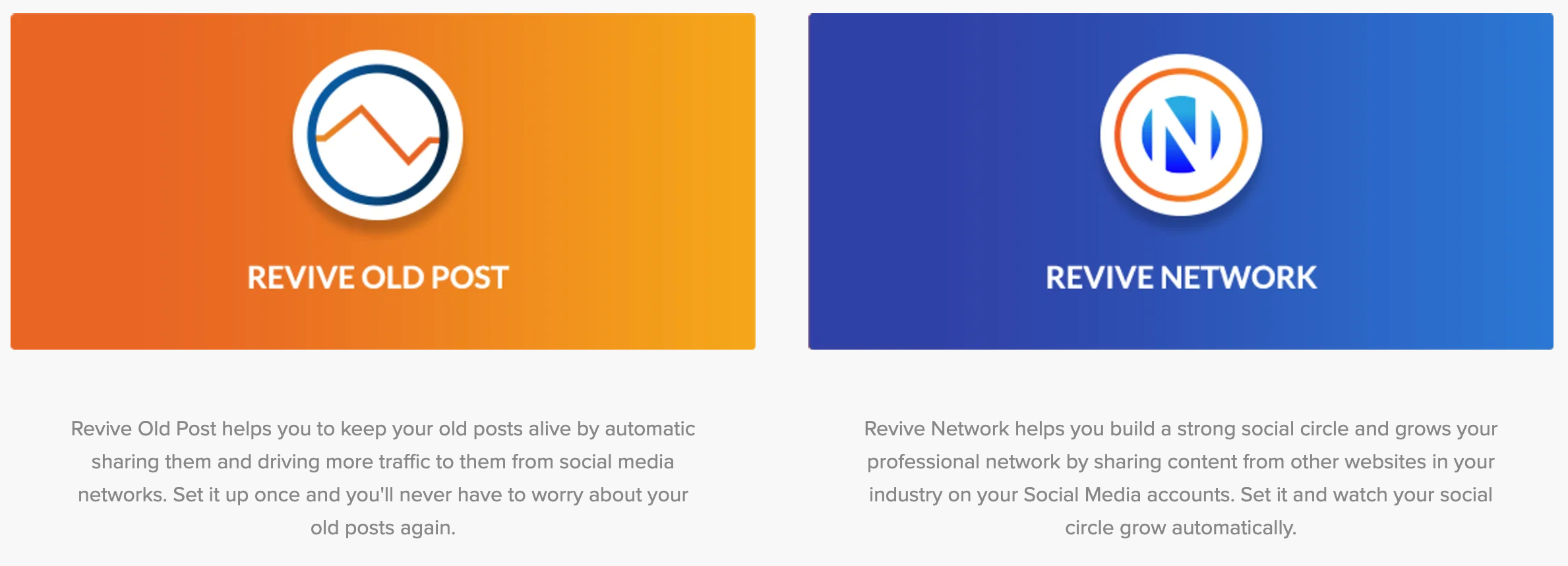 Revive Social- Social Media Growth Plugin