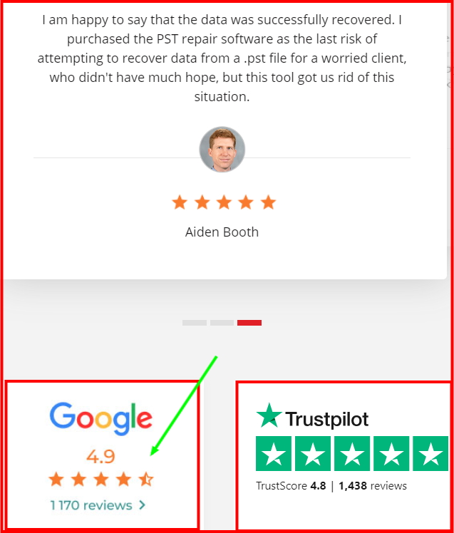 Stellar Repair For Outlook - Stellar Testimonial