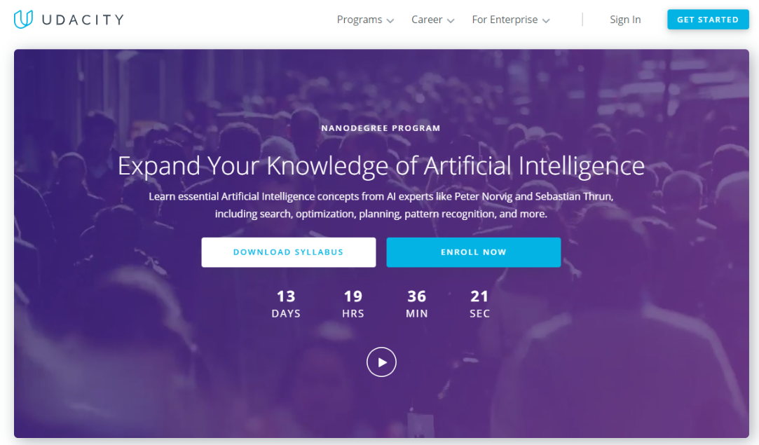 Udemy Or Udacity - Artificial Intelligence