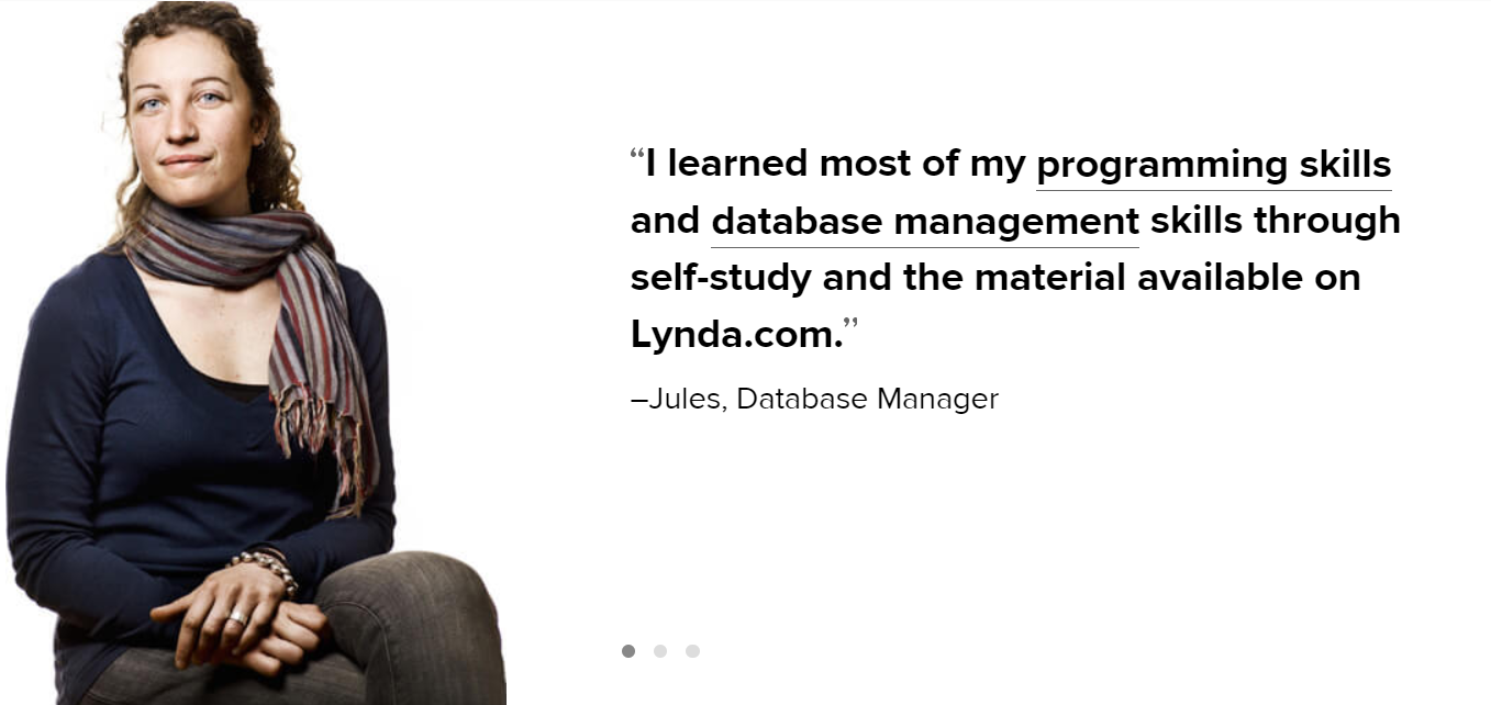 Skillshare Vs Lynda - Lynda Instructor