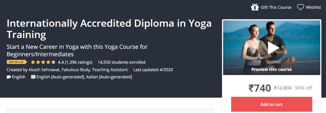 Udemy Vs. EdX - Diploma In Yoga