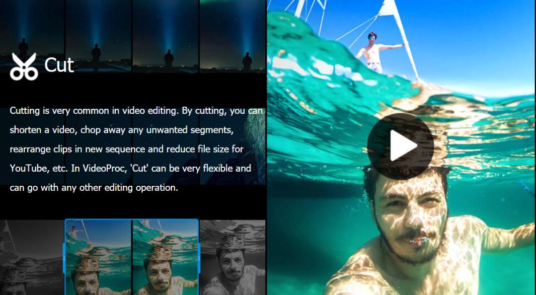 VideoProc Review - Cut