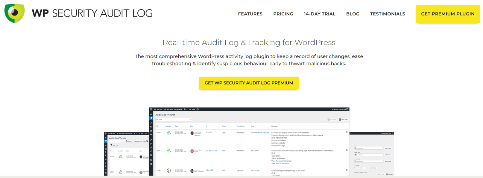WP Security Audit Log Review - WP Security Audit Log