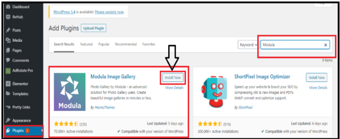 WordPress Image Gallery Plugins - Install Now