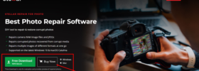 how to fix half grey pictures In - Stellar Repair