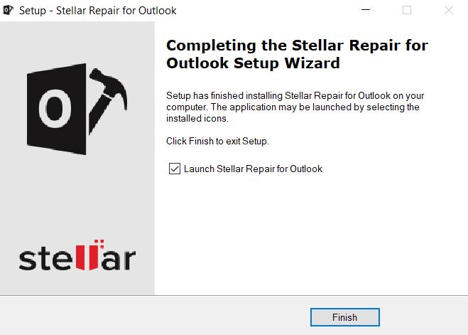 Stellar Repair For Outlook - Lunch Stellar