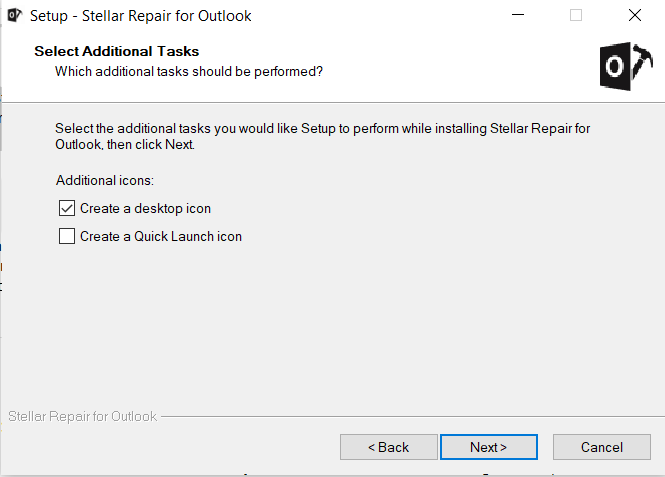 Stellar Repair For Outlook - Create A Desktop Icon