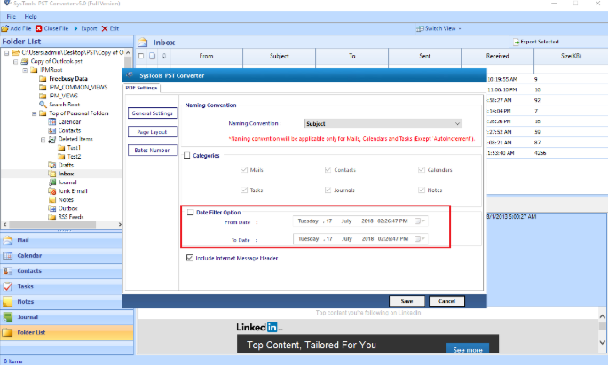 Advanced PST Converter Sys Tool