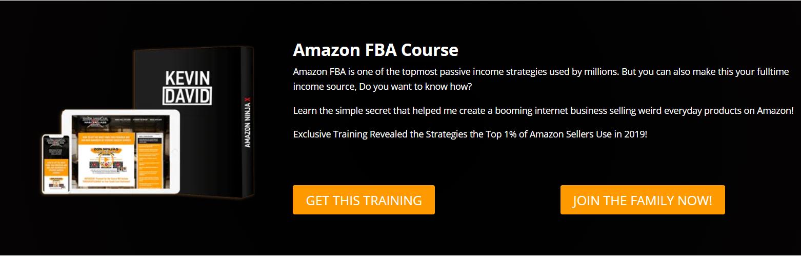Amazone FBA Course