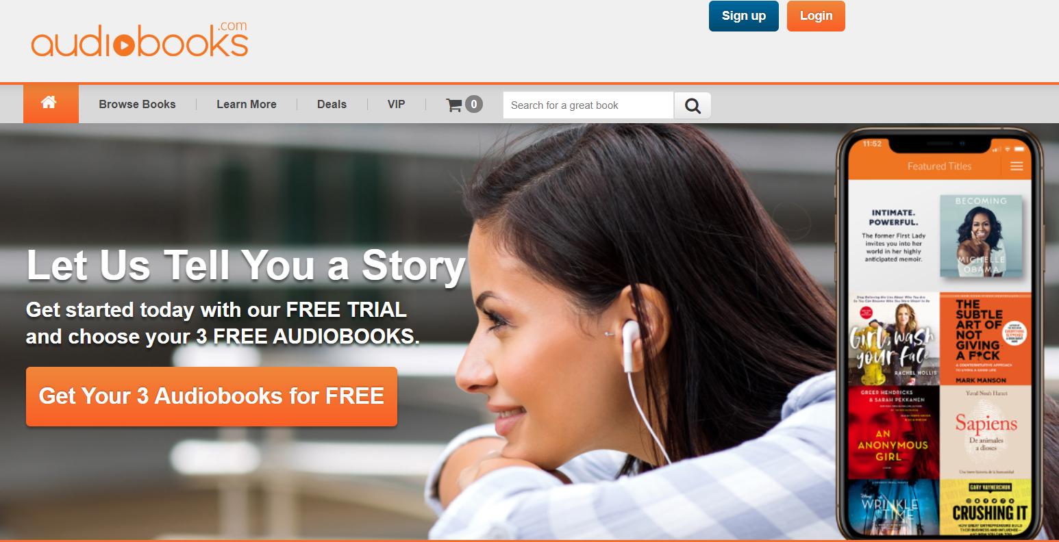 Audiobooks.com Review - Audiobooks
