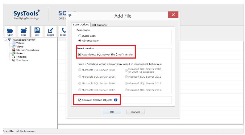 Auto Detect SQL Server