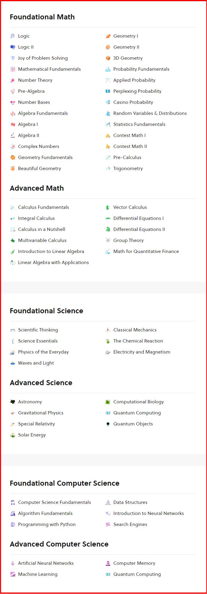 Brilliant - Courses