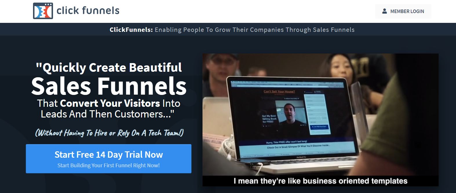 How to Build A Sales Funnel - ClickFunnel