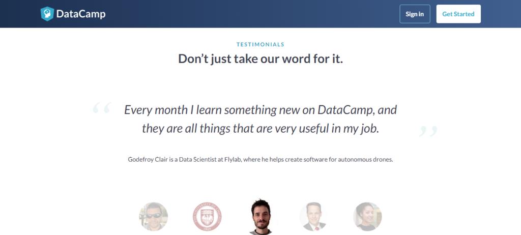 Datacamp Customer Reviews