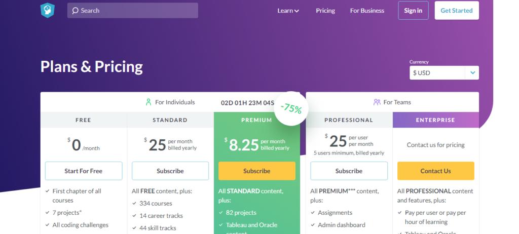Datacamp Pricing Review