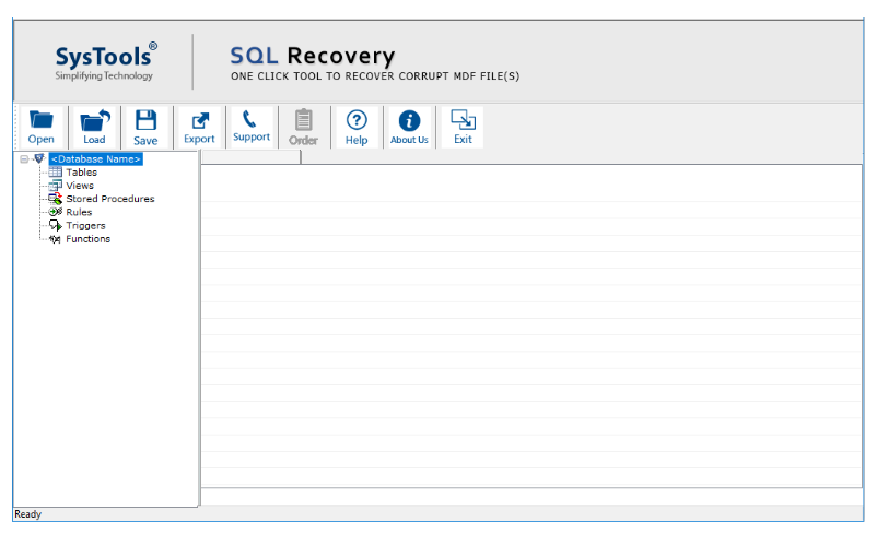 Sys Tool Recovery - Download SQL Recover