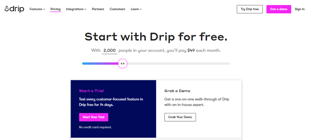 Drip Pricing Review