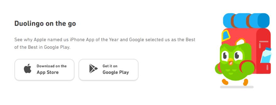 Duolingo - App