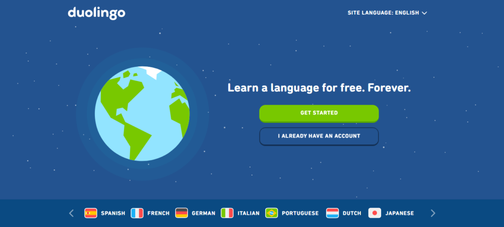 Duolingo Language Learning App