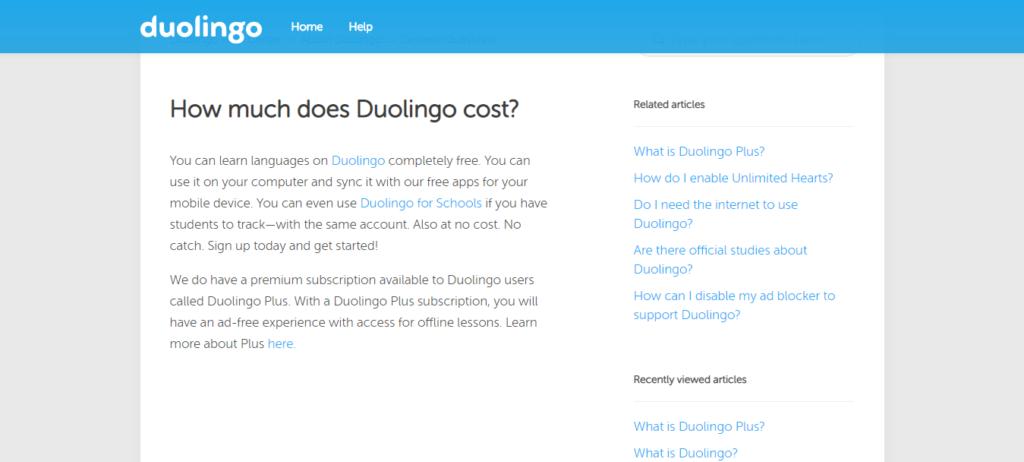 Duolingo Pricing Review