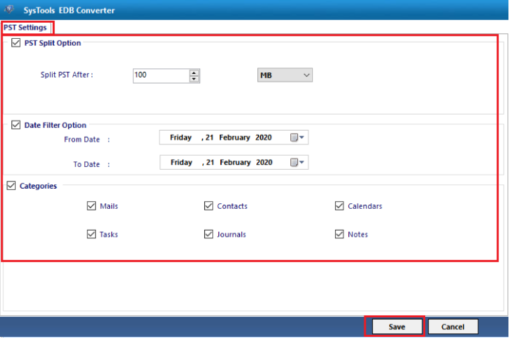 EDB Converter- Exhange File Tool