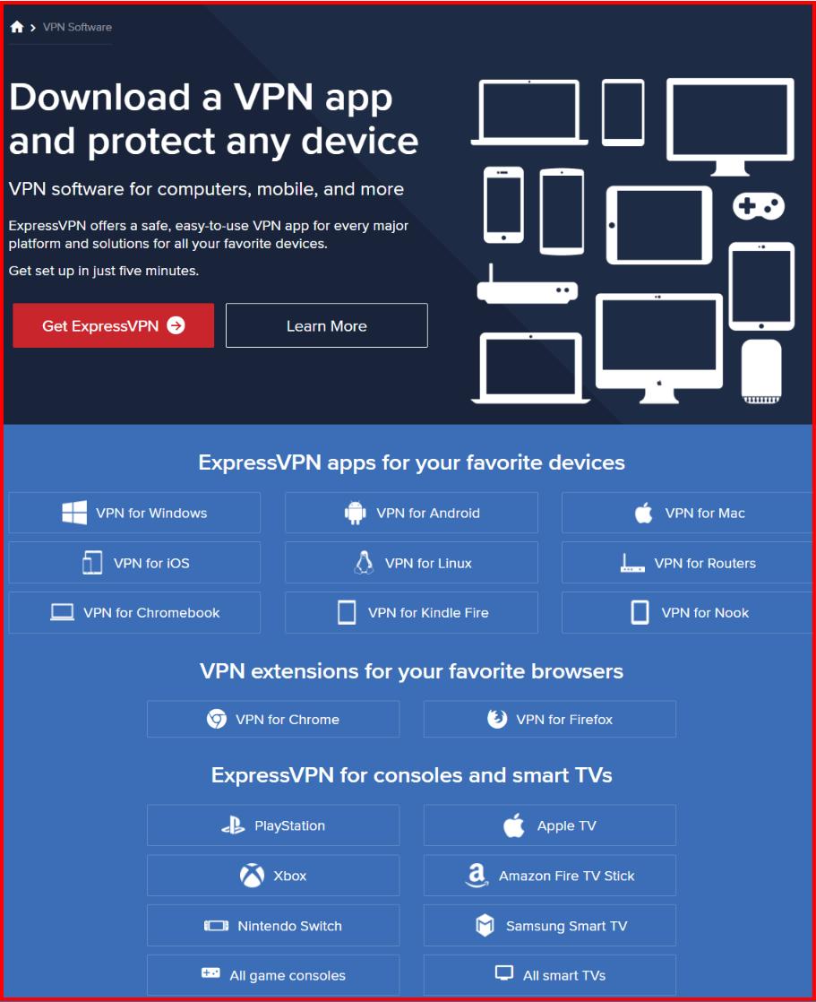 Express VPN App