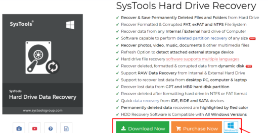 Hard Drive Data Recovery Software
