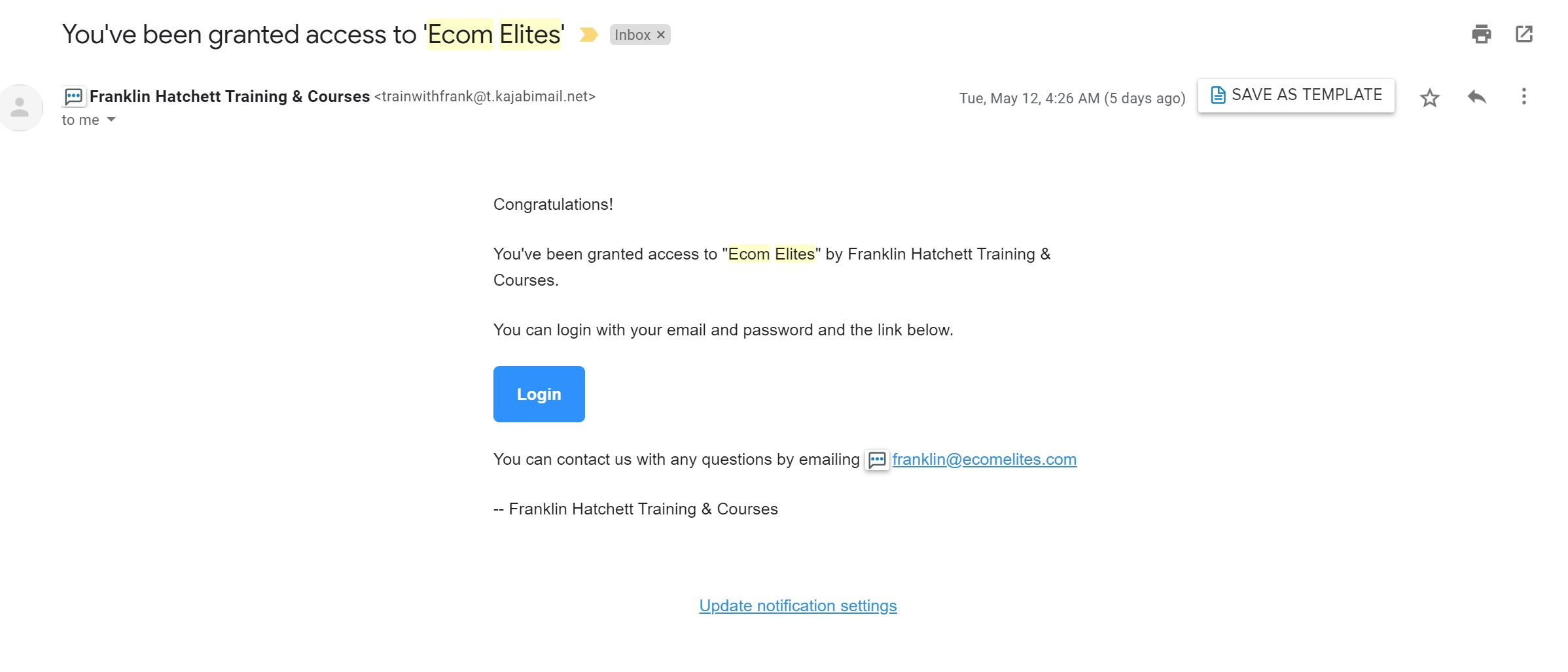 Ecom Elites High Ticket Dropshipping