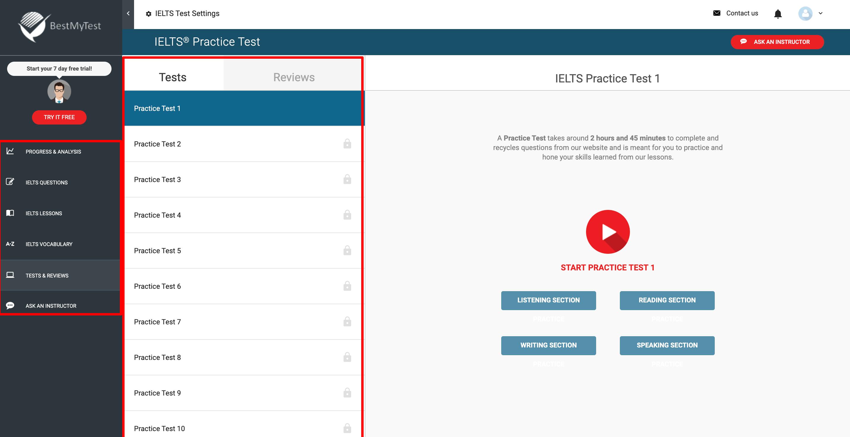 IELTS Practice Set